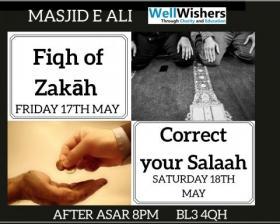 Fiqh of Zakâh - Masjid Ali, Bolton