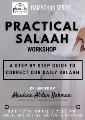 Practical Salah Workshop: Masjid Ali, Bolton